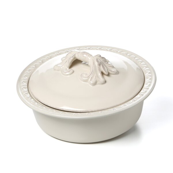 Giulia Round Baker with Lid by Lark Manor