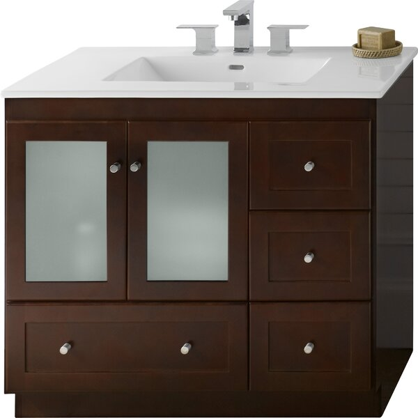 Shaker 36 Single Bathroom Vanity Base Only