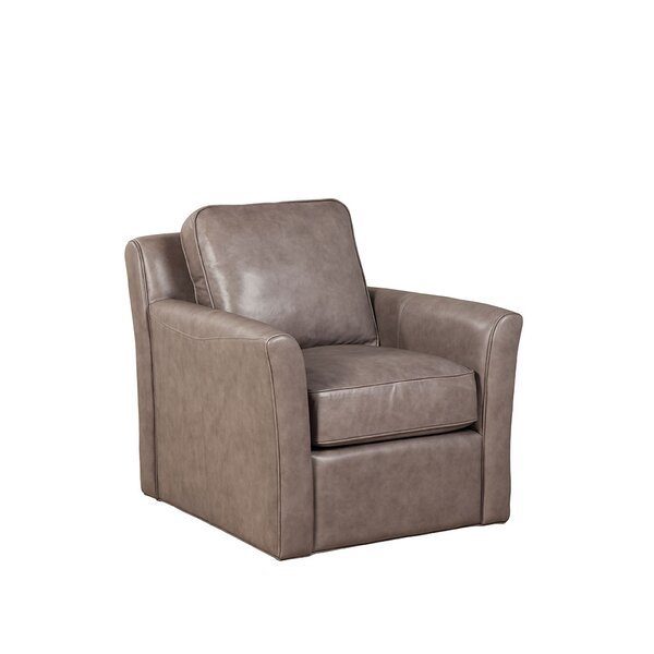 Kristian Swivel Club Chair by Loon Peak
