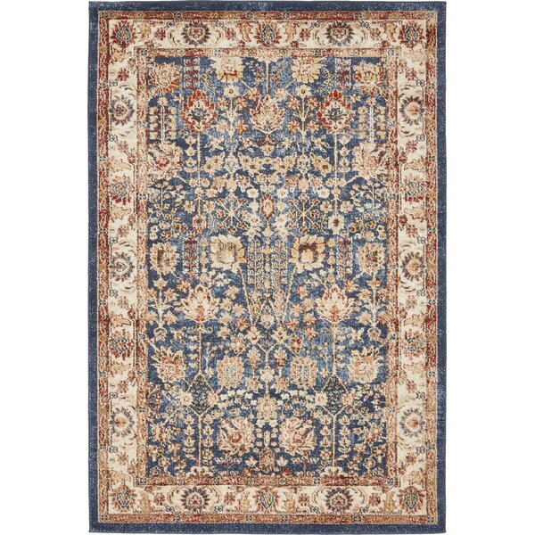 Bridgeport Light Blue Area Rug by World Menagerie