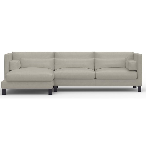 Annabell Left Hand Facing Leather Sectional By Brayden Studio