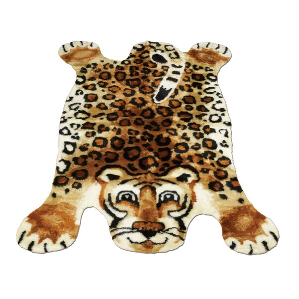 Leopard Kids Rug by Walk On Me