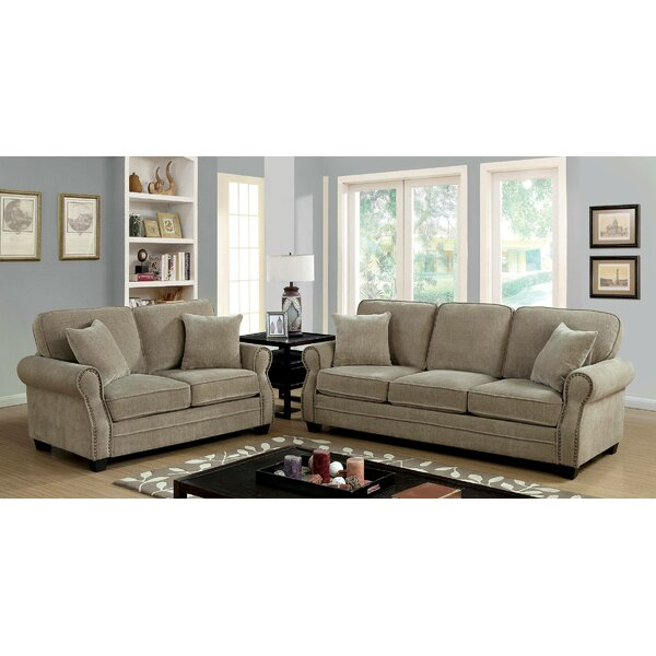 Gonvick 2 Piece Living Room Set by Darby Home Co Darby Home Co