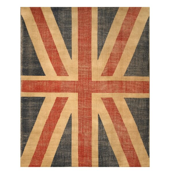 Jagraon Hand-Woven Area Rug by Meridian Rugmakers