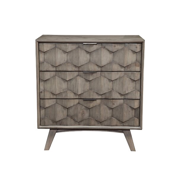 Lola 3 Drawer Chest by Modern Rustic Interiors