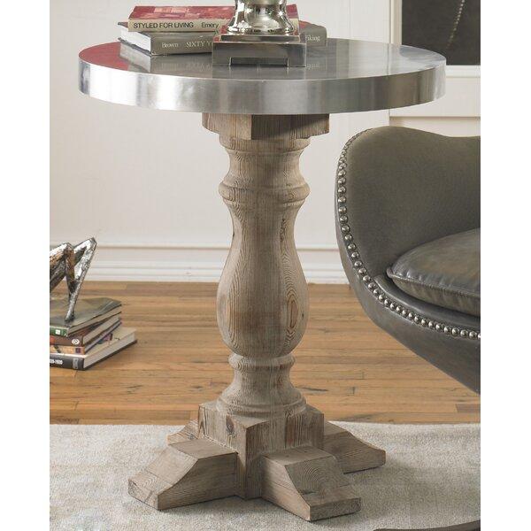 Aureliana End Table by Gracie Oaks