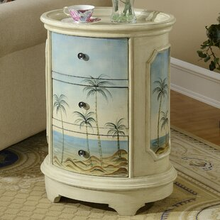 Reviews Alfred End Table With Storage ByHighland Dunes