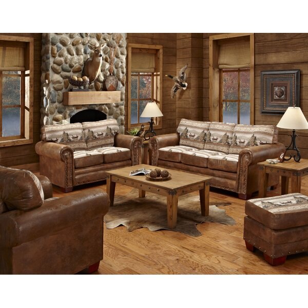 Severine 4 Piece Living Room Set by Millwood Pines