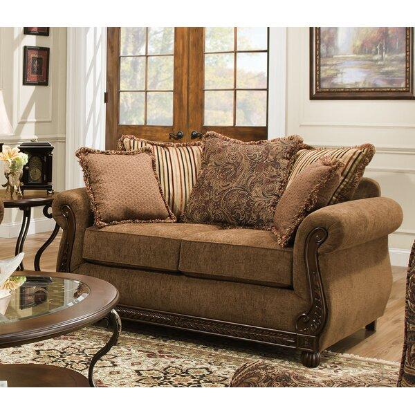 Simmons Upholstery Freida Loveseat by Astoria Grand