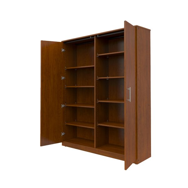 Mobile CaseGoods 2 Door Storage Cabinet by Marco Group Inc. Marco Group Inc.