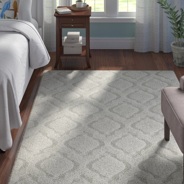 Ramey White Area Rug by Andover Mills
