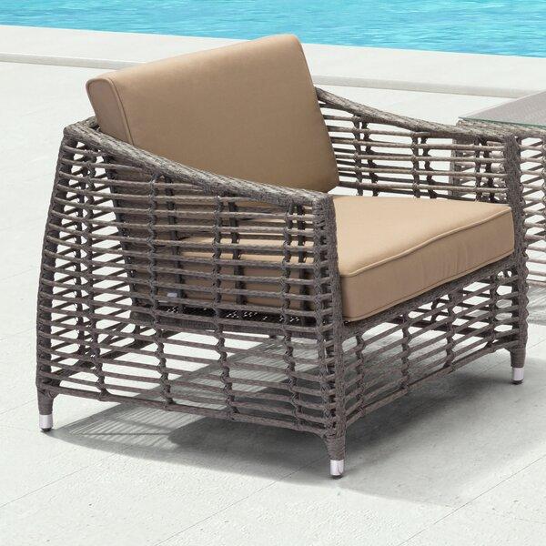 Goldberg Arm Chair with Cushion by Brayden Studio