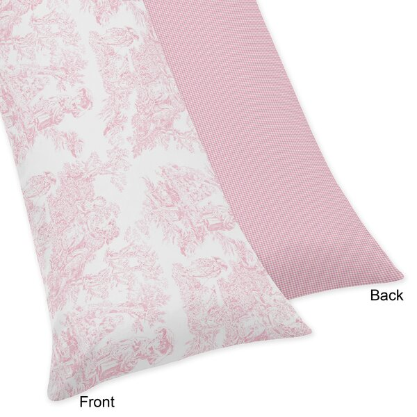 French Toile Body Pillowcase by Sweet Jojo Designs