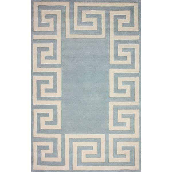 Filigree Santorini Hand-Woven Light Slate Area Rug by nuLOOM