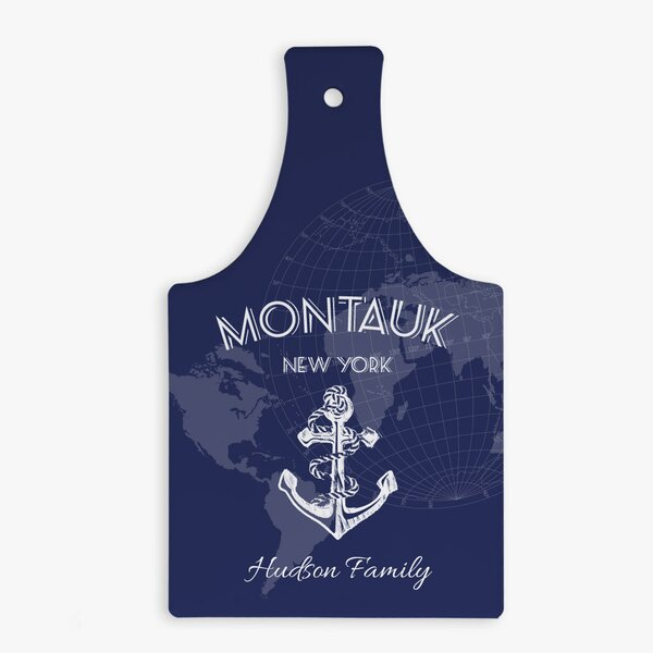 Custom Anchor Bottle-Shaped Ceramic Hot Pad Trivet by Monogramonline Inc.