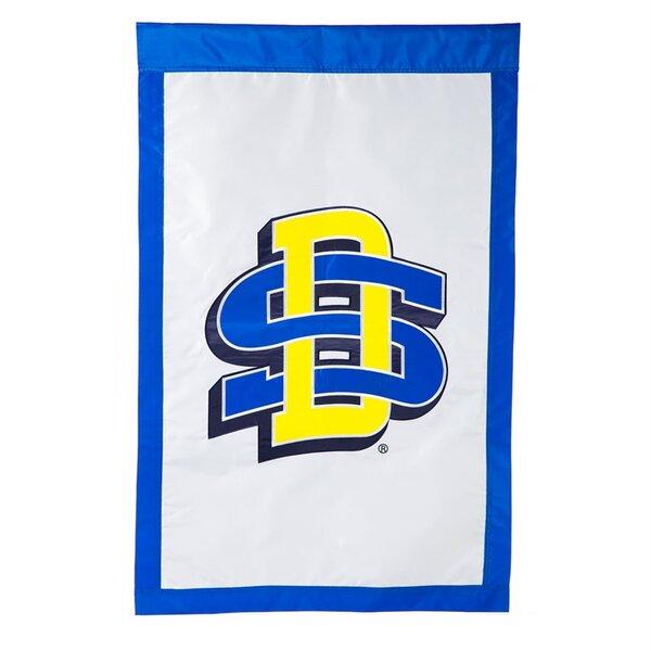 South Dakota State University 2-Sided Traditional Flag by Evergreen Enterprises, Inc