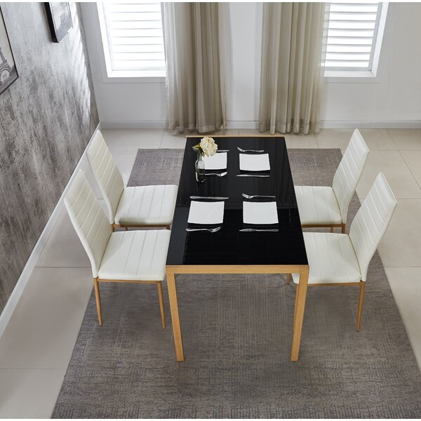 Wordsworth 5 Piece Dining Set by Orren Ellis