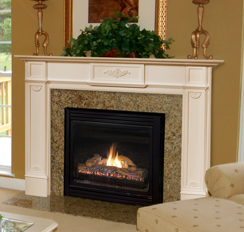 fireplace manels. 56  Monticello Fireplace Mantel Surround Pearl Mantels Reviews
