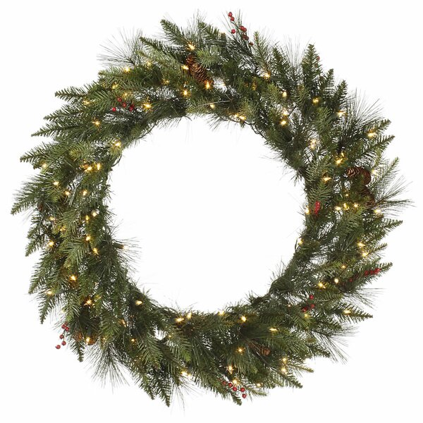 Vallejo Mixed Pine Wreath by The Holiday Aisle