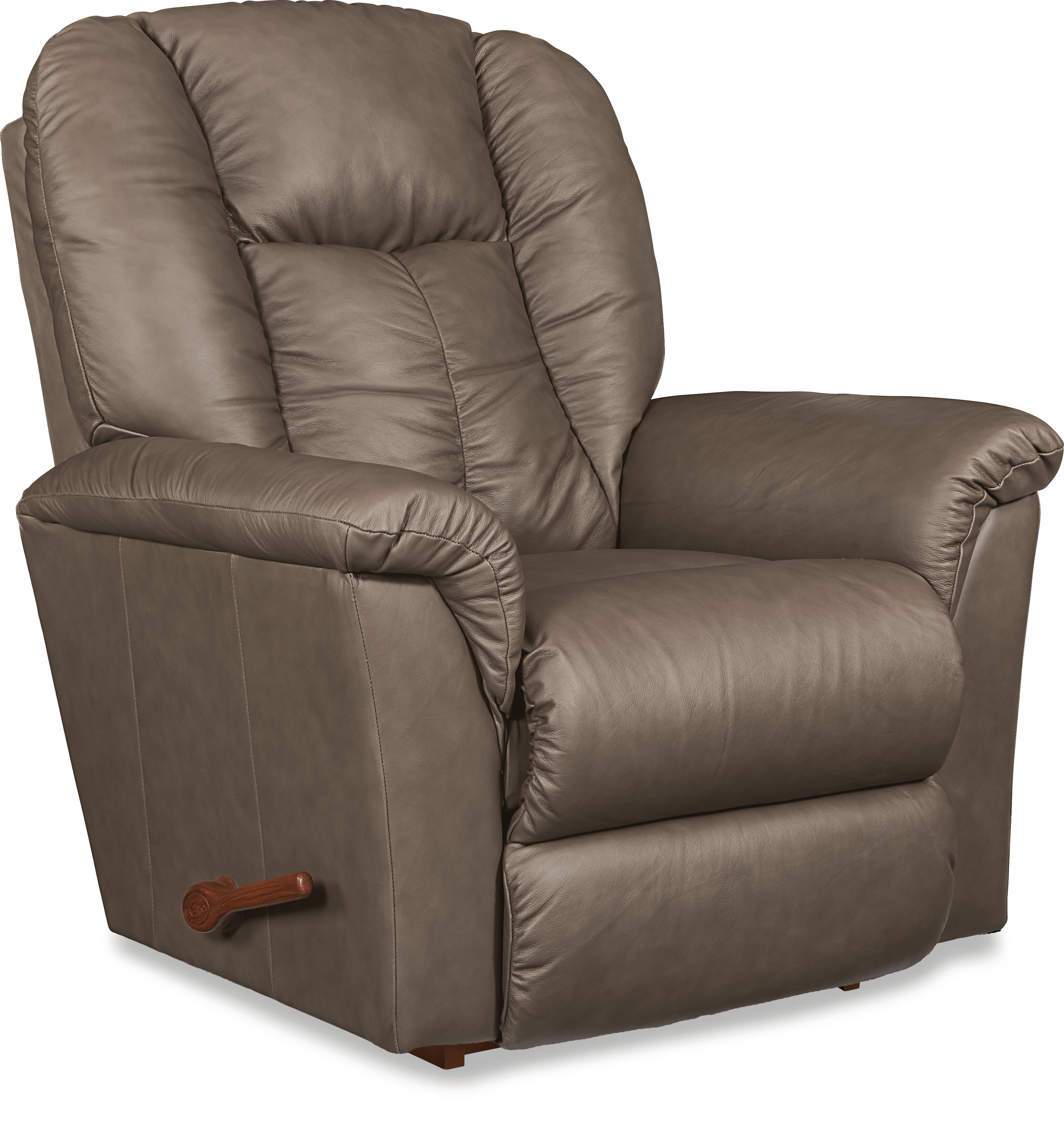 la z boy jasper leather manual rocker recliner reviews wayfair rh wayfair com