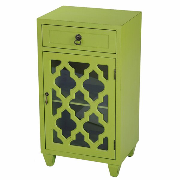 Rockville 1 Door Accent Cabinet by World Menagerie World Menagerie