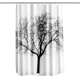 Circletree Tree of Life Vinyl Shower Curtain By Loon Peak