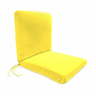 Polyester Classic Indoor/Outdoor Lounge Chair Cushion by Plow & Hearth