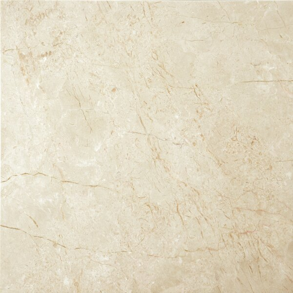 Marble 24 x 24 Field Tile in Crema Marfil by Emser Tile