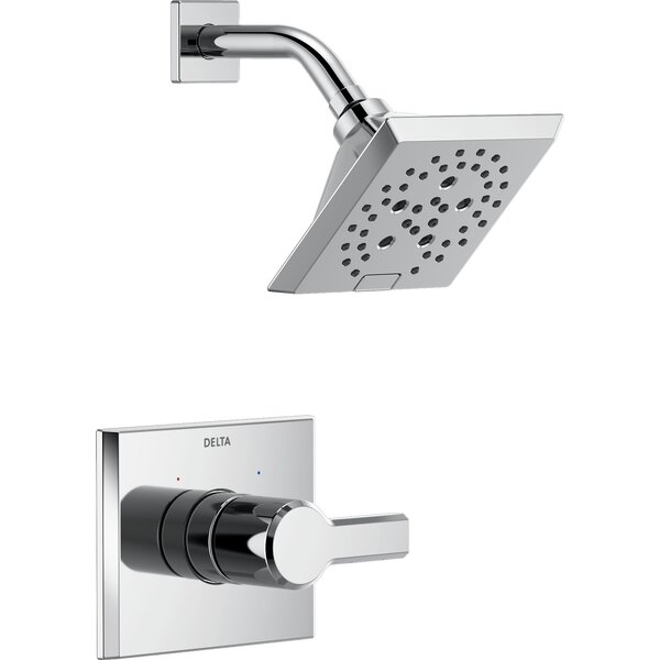 Pivotal 14 Series Shower Faucet Trim with Lever Handles and H2okinetic Technology by Delta