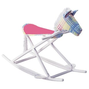 Affordable Personalized Rocking Horse in Pastel By Hoohobbers