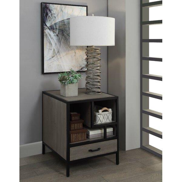 Accringt End Table by Brayden Studio