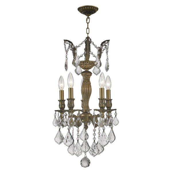 Newman 1 Tier 5-Light Candle Style Chandelier by Astoria Grand