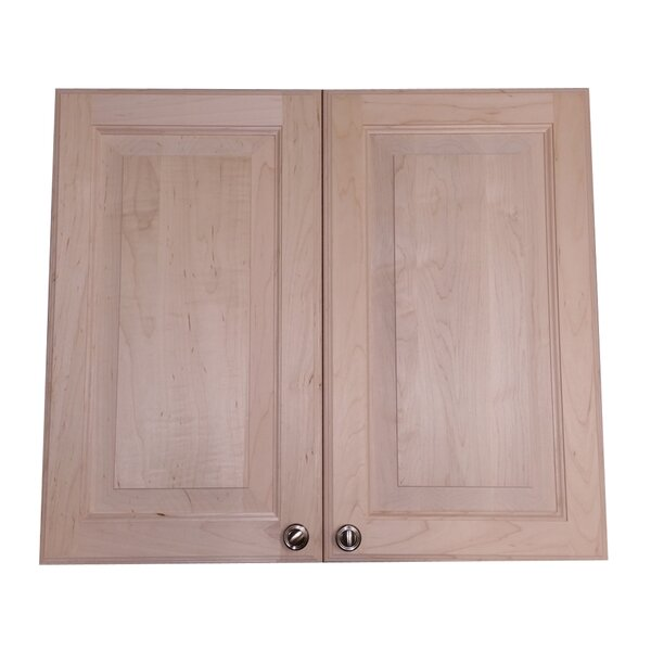 Aurora 27 W x 23.5 H Recessed Cabinet by WG Wood Products