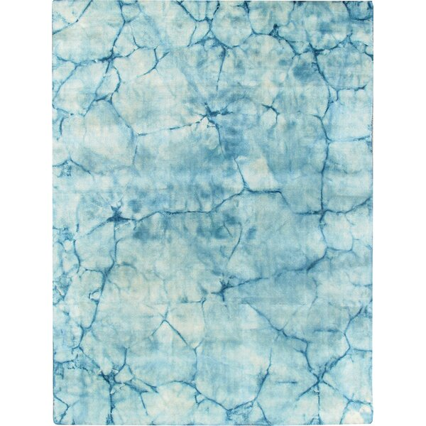 Allure Hand-Loomed Blue Area Rug by Pasargad