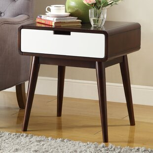 Online Reviews Barge End Table With Storage By George Oliver