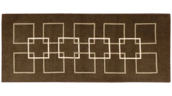 Donahue Brown Area Rug by Ebern Designs