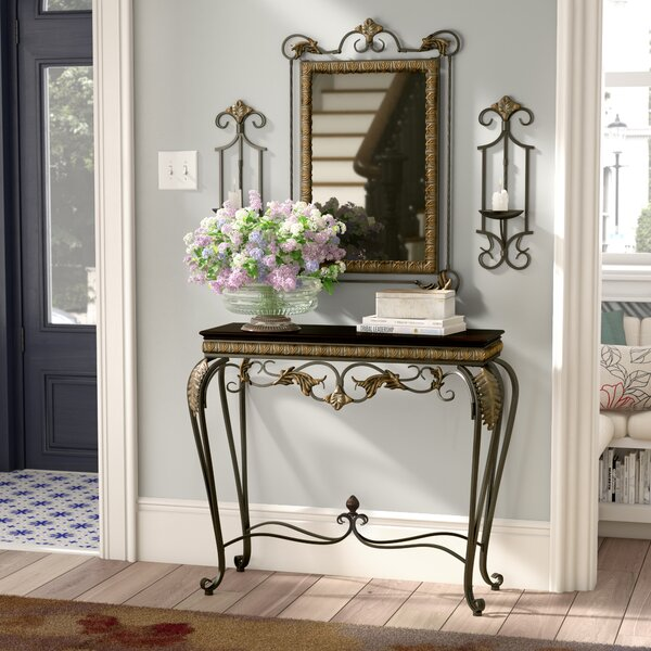 wholesale dealer 304af 80f59 Byrd 4 Piece Console Table and Mirror Set