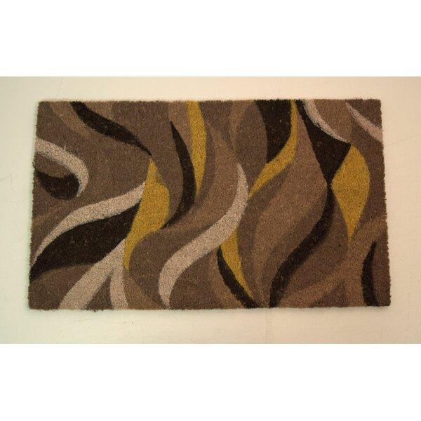 Dupont Modern Leaves Doormat by Ebern Designs
