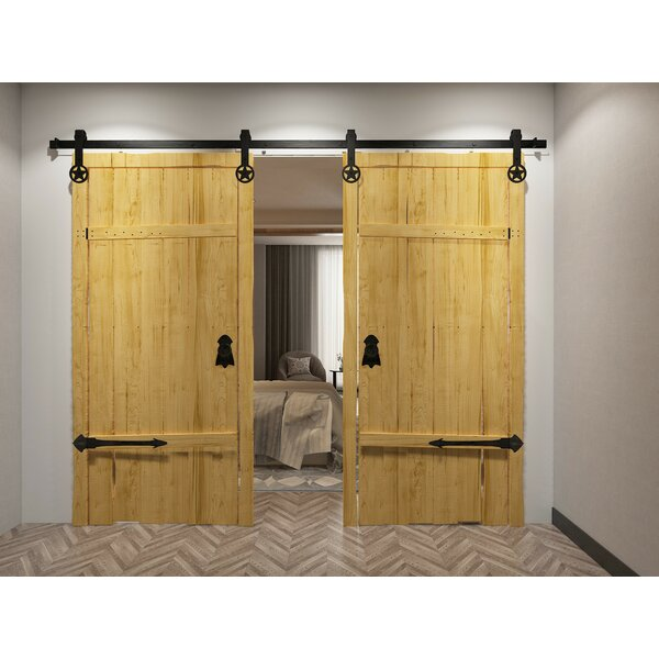 Double Star Barn Door Hardware by Vancleef