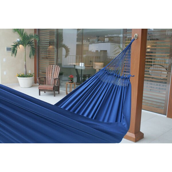 Maya Artists of The Yucatan Double Person Sustainable Backyard and Outdoors Hand Woven  Cotton Tree Hammock by Novica