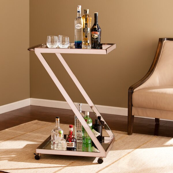 Venice Bar Cart By Wildon Home® Fresh