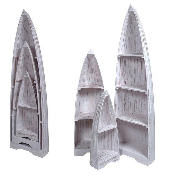 Plattsburgh 3 Piece Boat Accent Shelves by Loon Peak