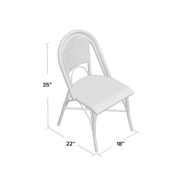 Underhill Wicker/Rattan Patio Dining Side Chair