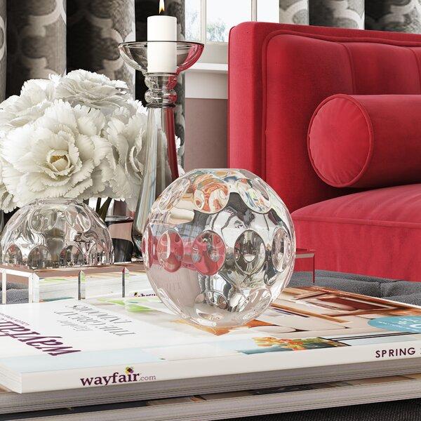 Sedillo Moon Glass Ball by Willa Arlo Interiors