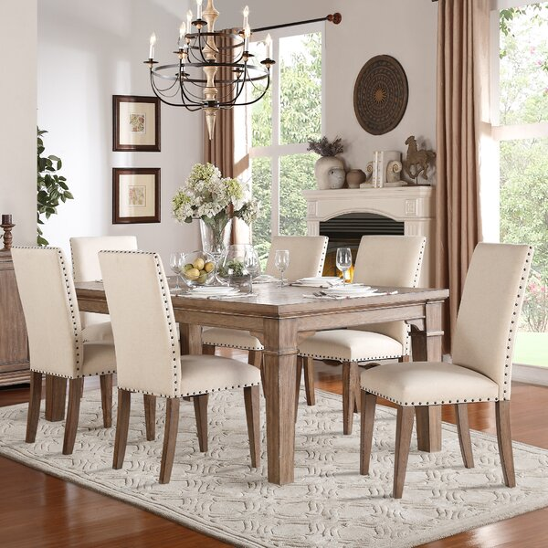 Wilmington 7 Piece Dining Set by Darby Home Co