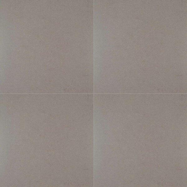 Dimensions Gris 24 x 24 Porcelain Field Tile in Gray by MSI