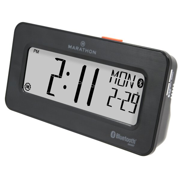 Desktop Alarm Clock by Marathon Watch Company