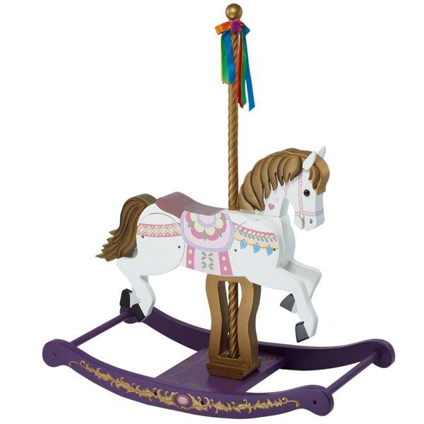 Animal Inspiration Carousel Rocking Horse by Teamson Kids