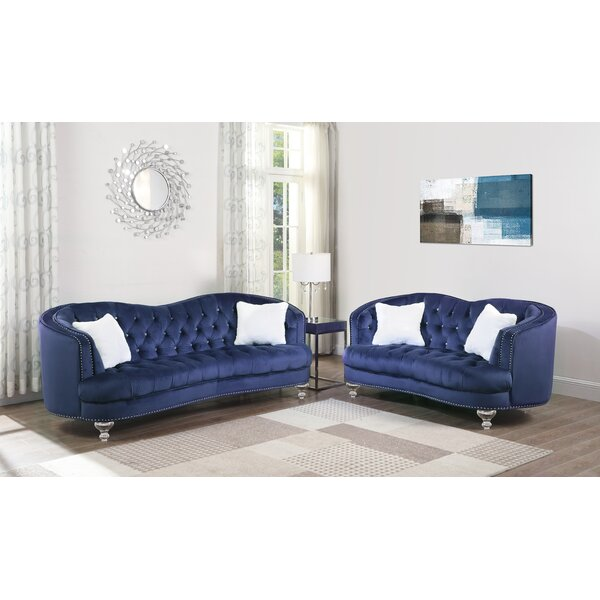 Noriega 2 Piece Living Room Set by Rosdorf Park