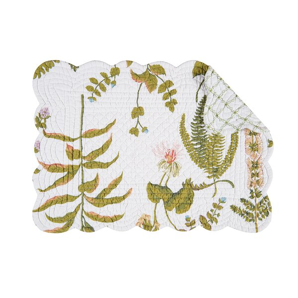 Anessa 19 Placemat (Set of 6) by C&F Home